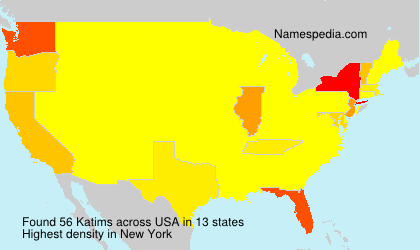 Surname Katims in USA