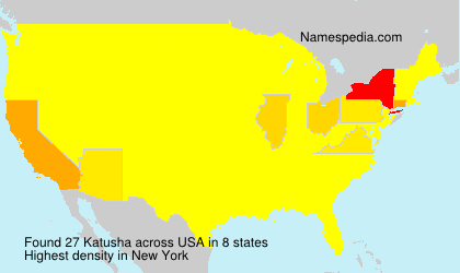 Surname Katusha in USA