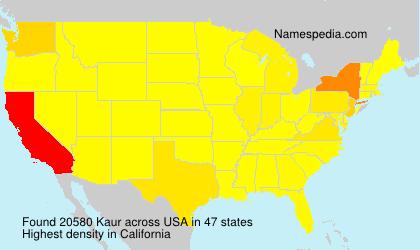 Kaur - USA