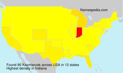 Surname Kazmierzak in USA