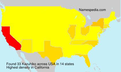 Kazuhiko - USA