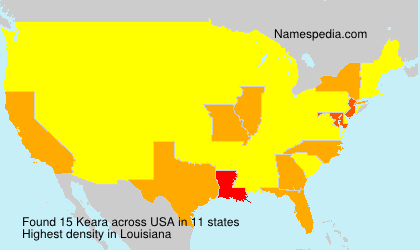 Surname Keara in USA