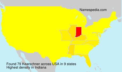 Surname Kearschner in USA