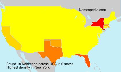Surname Kehlmann in USA