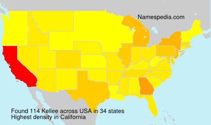 Familiennamen Kellee - USA