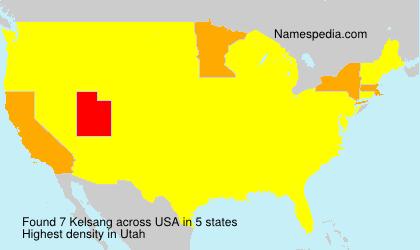 Surname Kelsang in USA
