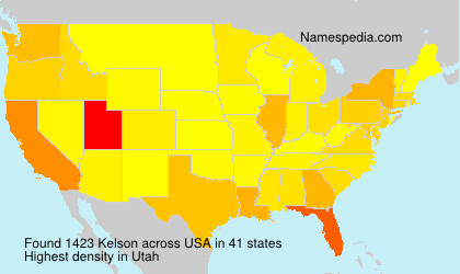 Surname Kelson in USA