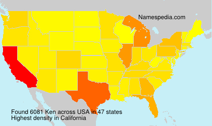 Surname Ken in USA