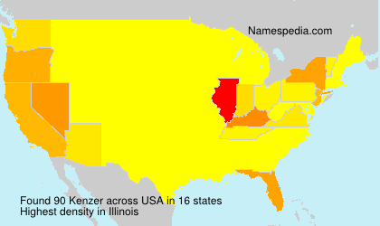 Surname Kenzer in USA