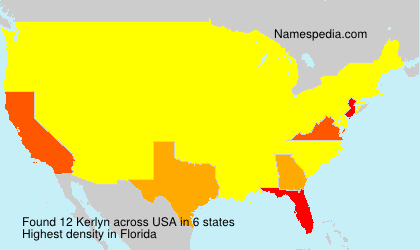 Surname Kerlyn in USA
