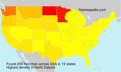 Kerzman - USA
