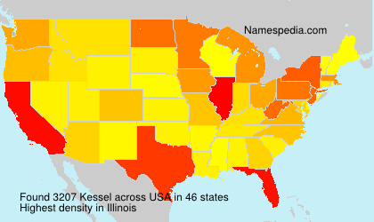 Surname Kessel in USA