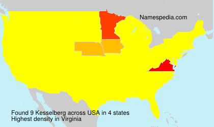 Surname Kesselberg in USA