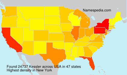 Surname Kessler in USA