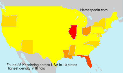 Surname Kesslering in USA