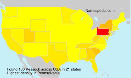Familiennamen Kessock - USA