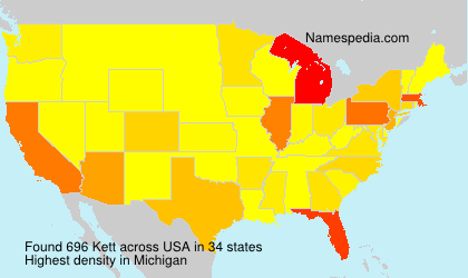 Surname Kett in USA