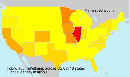 Surname Kettelkamp in USA