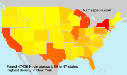 Surname Kevin in USA