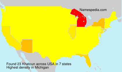 Surname Khatoun in USA
