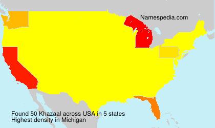 Khazaal - USA