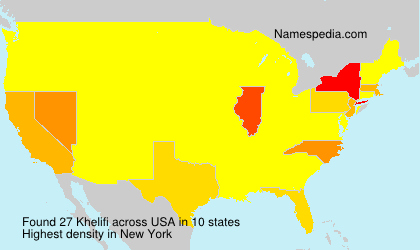 Surname Khelifi in USA
