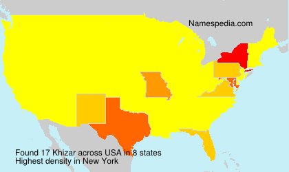 Surname Khizar in USA