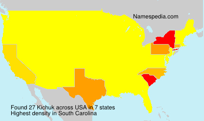 Surname Kichuk in USA