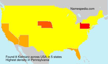 Surname Kielniarz in USA