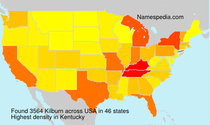 Surname Kilburn in USA