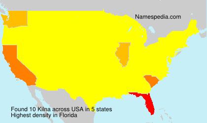 Surname Kilna in USA