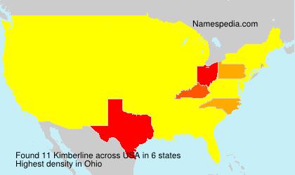 Surname Kimberline in USA