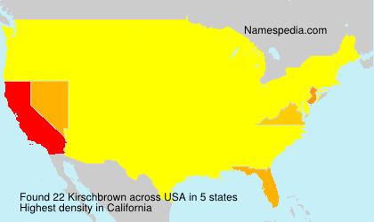 Kirschbrown