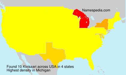 Surname Kivisaari in USA