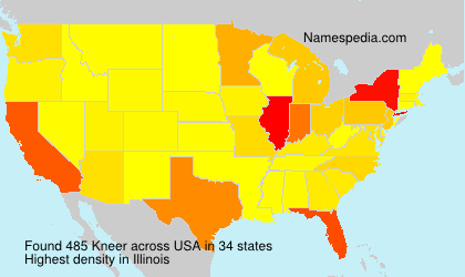 Surname Kneer in USA