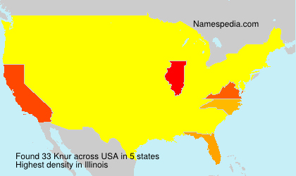 Surname Knur in USA