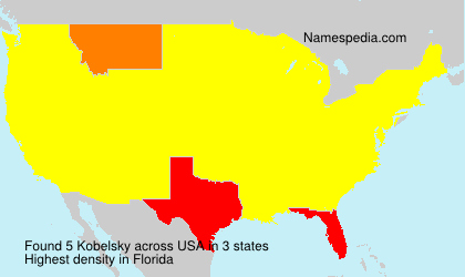 Surname Kobelsky in USA