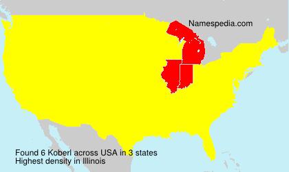 Familiennamen Koberl - USA