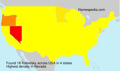 Familiennamen Kobielsky - USA