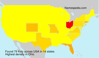 Surname Koly in USA