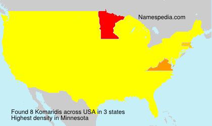 Komaridis - USA