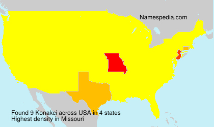 Surname Konakci in USA