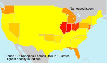 Konopinski - USA