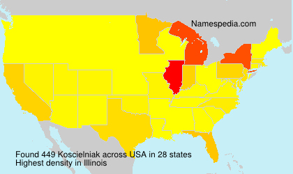 Surname Koscielniak in USA
