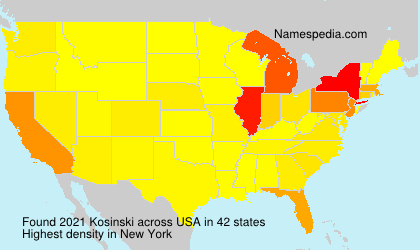 Surname Kosinski in USA
