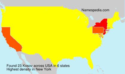 Surname Kosov in USA