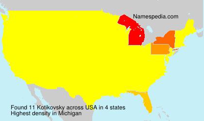 Kotikovsky - USA