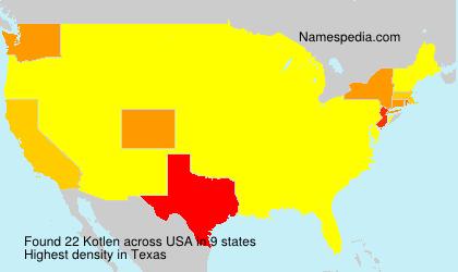 Kotlen - USA