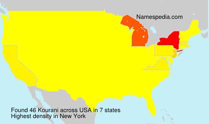 Surname Kourani in USA