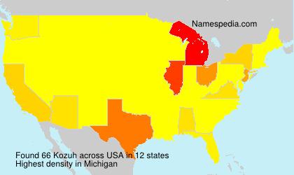 Kozuh - USA